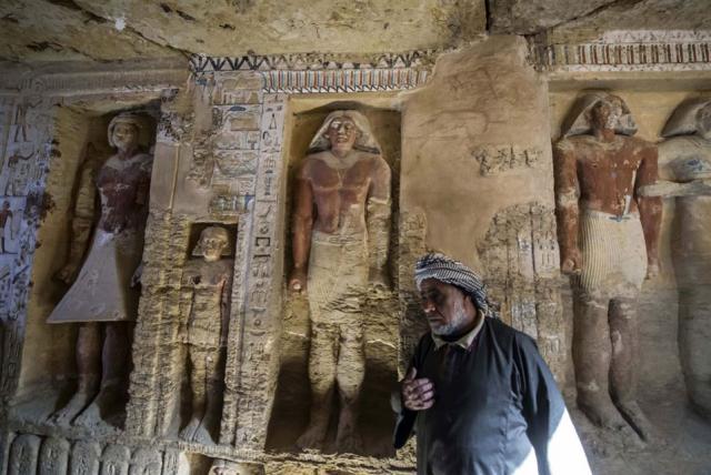 Oude tombe ontdekt …