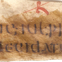 Fragment Codex Gregorianus te…